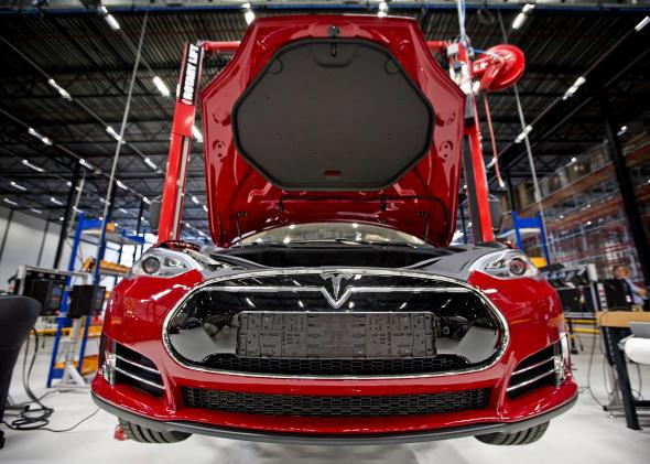 California is exempting Tesla from taxes on the purchase of equipment to ramp up manufacturing of its wildly successful Model S sedan.