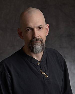 Author Neal Stephenson.