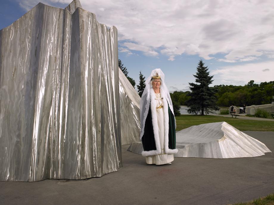 The 2010 Fjallkona (Icelandic for Ice Queen)/Winnipeg, Manitoba/July 2011