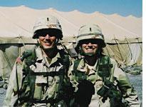 Capts. Tyler and Katrina Lewison