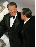 Al Gore and Leonardo DiCaprio. Click image to expand.