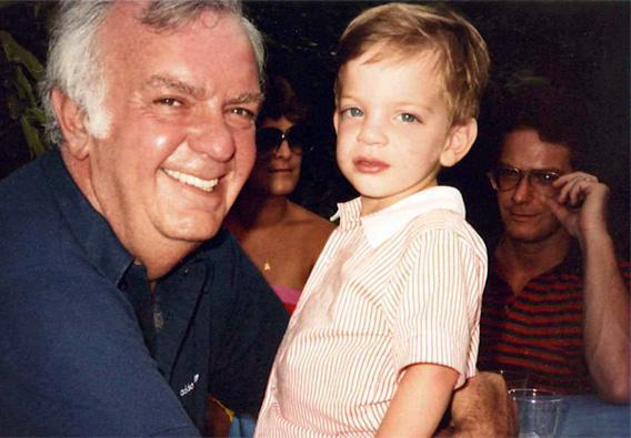 Jerrold Kushnick and his son Samuel.