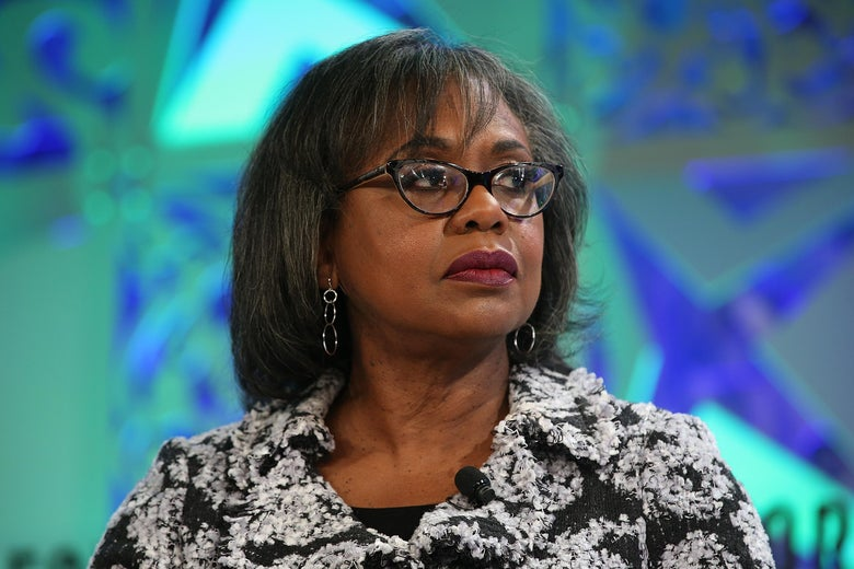 Anita Hill speaks onstage at the Fortune Most Powerful Women Summit 2018 on Oct. 2, 2018 in Laguna Niguel, California.