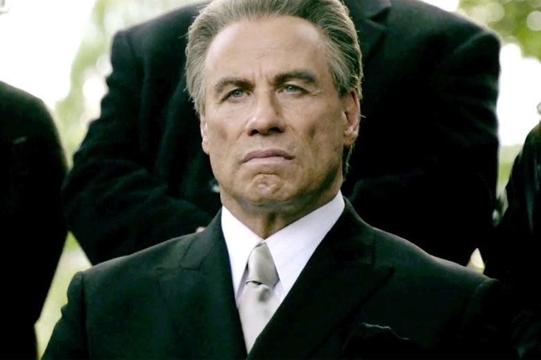 John Travolta in Gotti.