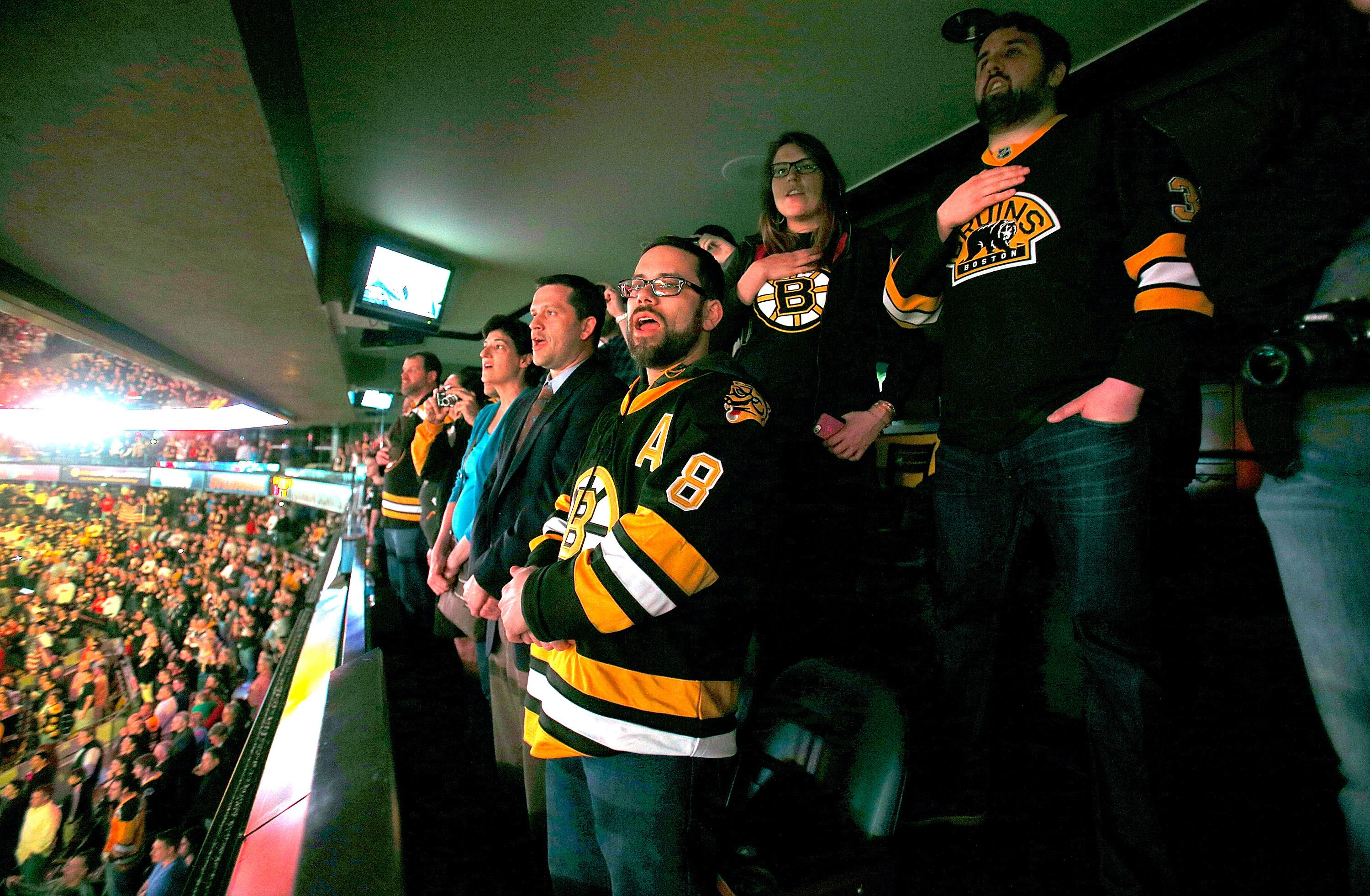 NHL Playoffs: The awesome story on the Bruins' anthem ...