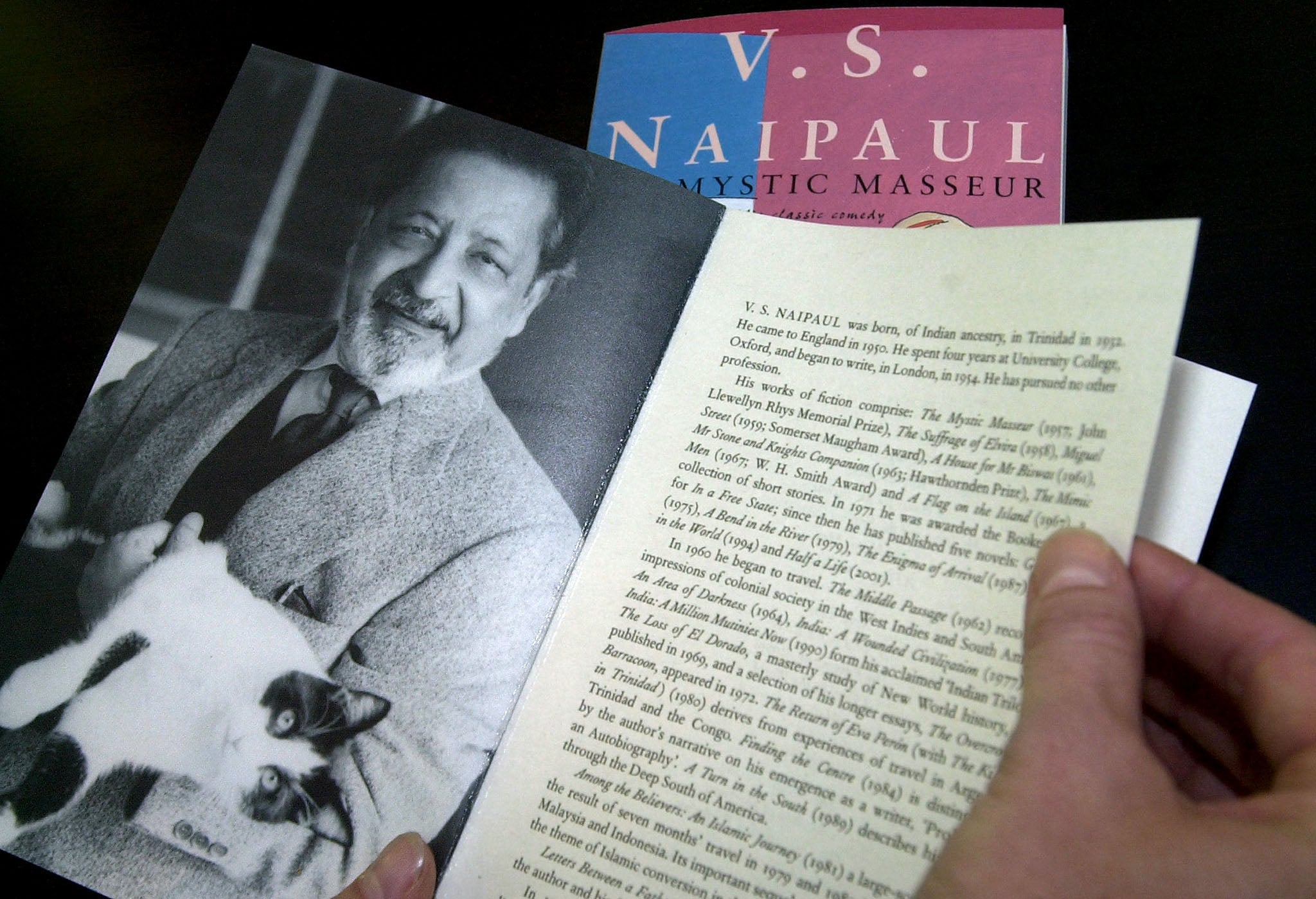A book by V.S. Naipaul.