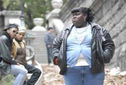 "Gabourey Sidibe as Claireece ""Precious"" Jones in Precious"