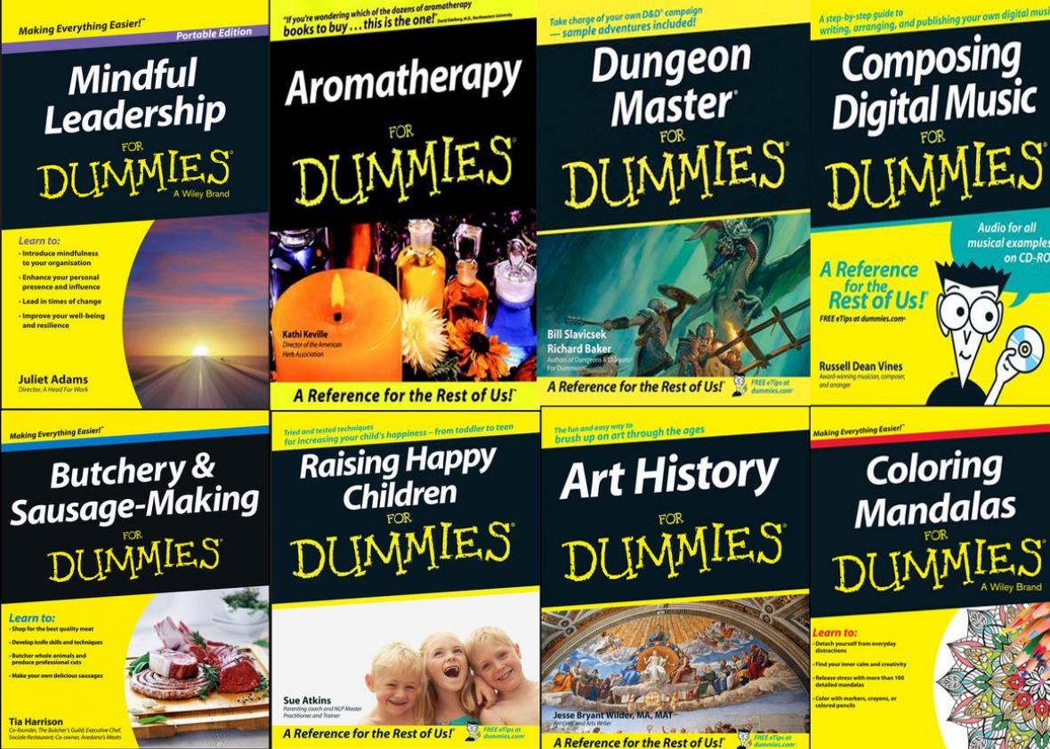 dummies covers collage.