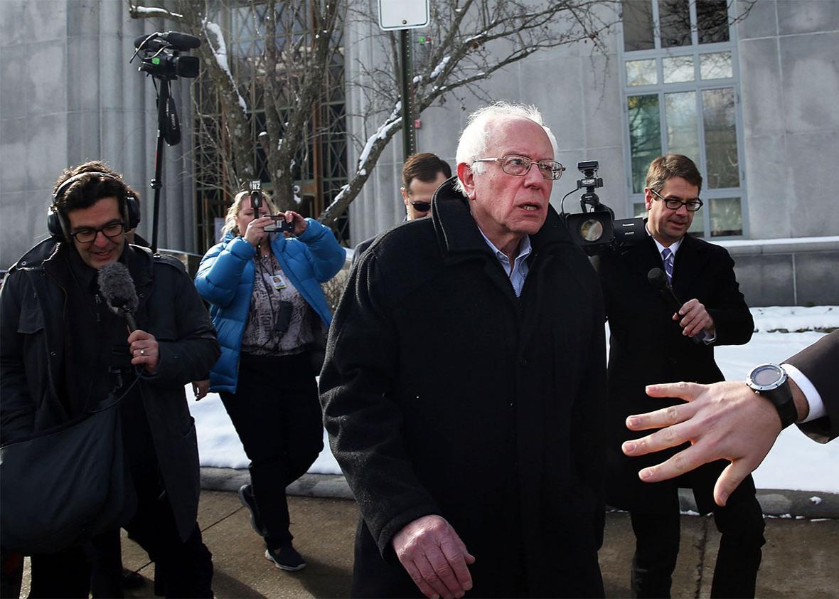 Senator Bernie Sanders.