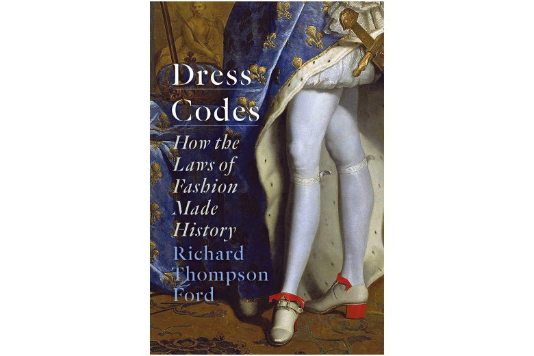 Dress Codes book cover featuring Renaissance-era tights