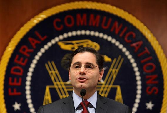 U.S. Federal Communications Commission Chairman Julius Genachowski.