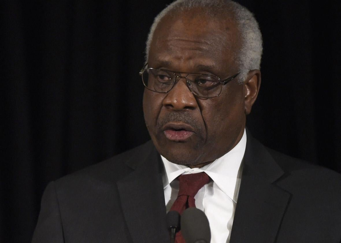 Supreme Court Justice Clarence Thomas