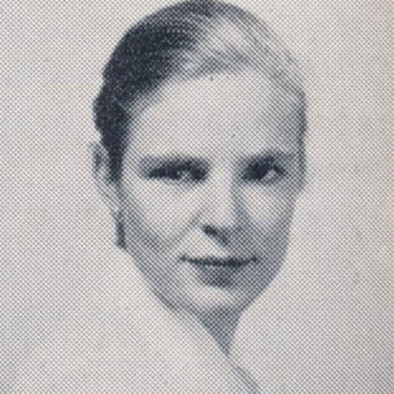 Yearbook photo of Wiltrud F. Richter.