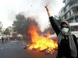 Protest in Iran.