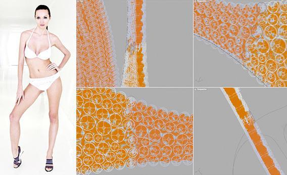 N12: 3D Printed Bikini.
