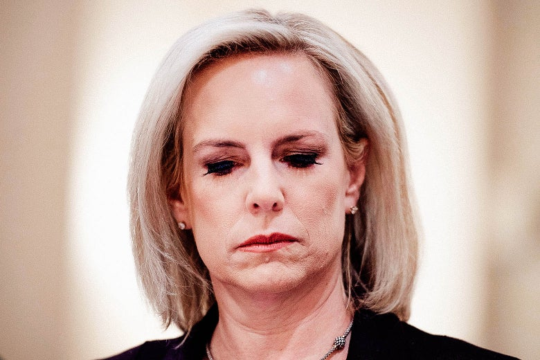 83a1effe747 Kirstjen Nielsen set a new standard for cruelty that may soon be ...
