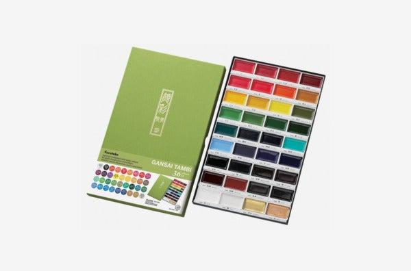 Kuretake MC2036V Gansai Tambi 36-Color Set