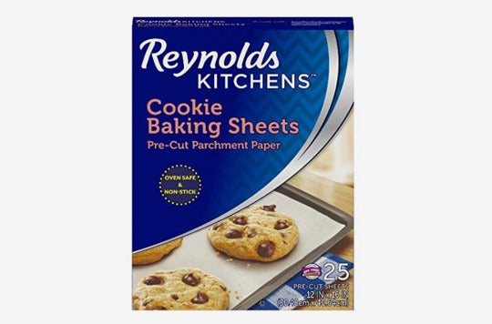 Reynolds Cookie Baking Sheets Non-Stick Parchment Paper.