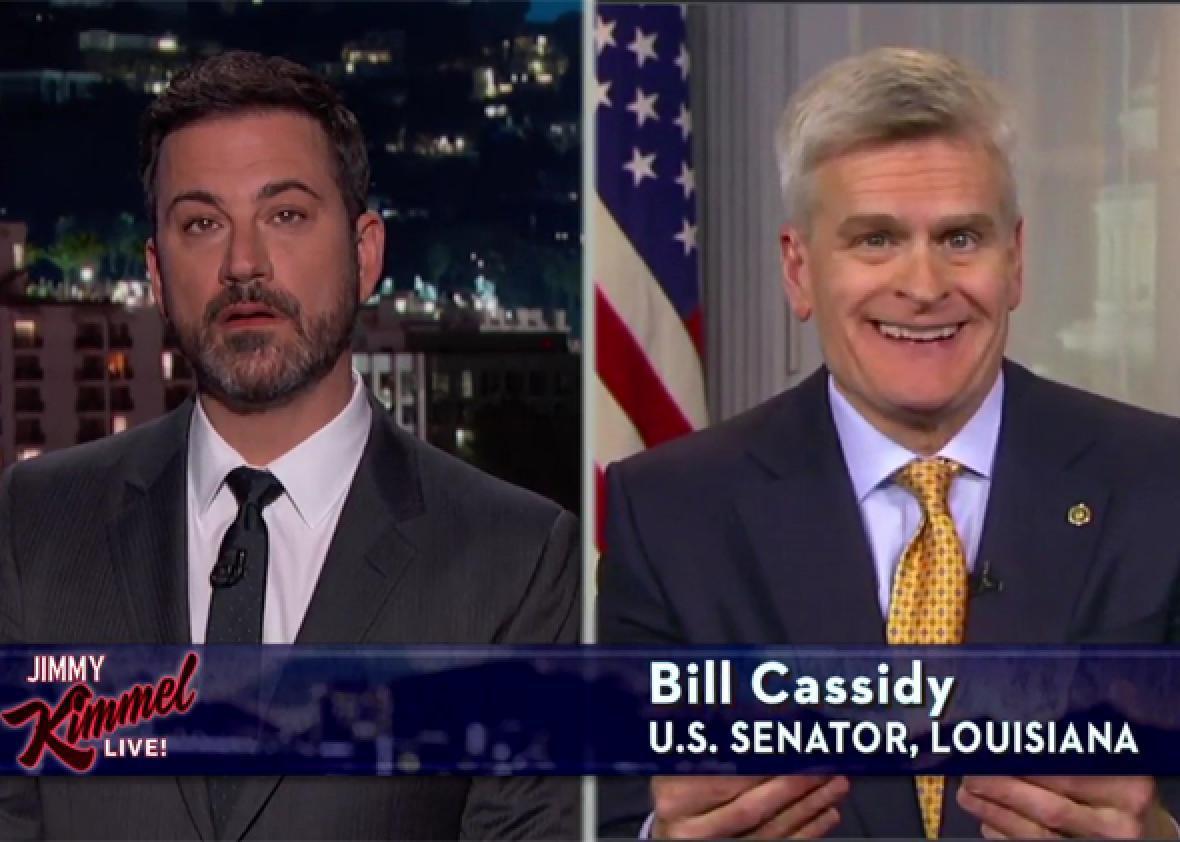 Jimmy Kimmel Is No Longer Buying Republican B.S.