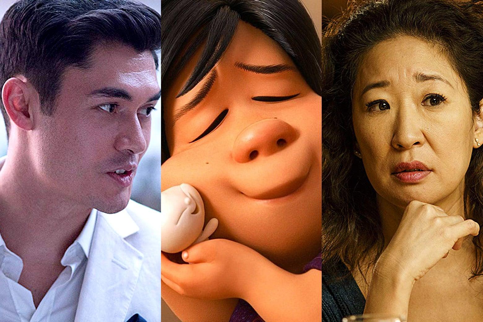 Henry Golding, Bao, Sandra Oh