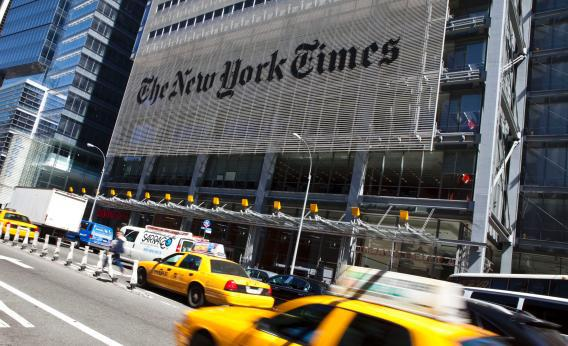 Tough times in the news business have forced the New York Times to strip down its roster of news blogs to about 50, including nine on sports, six on styles, travel, leisure, and none on the environment.