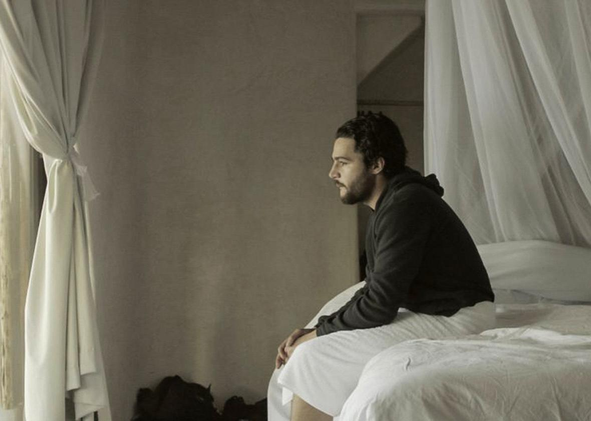 Christopher Abbott in James White.