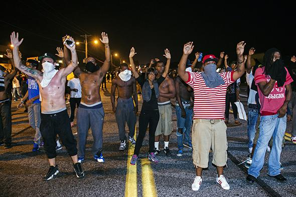 Ferguson, Missouri August 17, 2014.