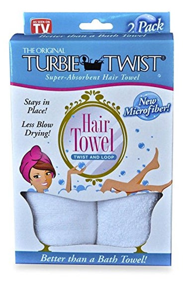Turbie Twist Microfiber Towel.