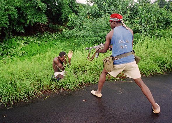 Violence in Liberia