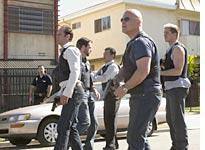 Scene from The Shield