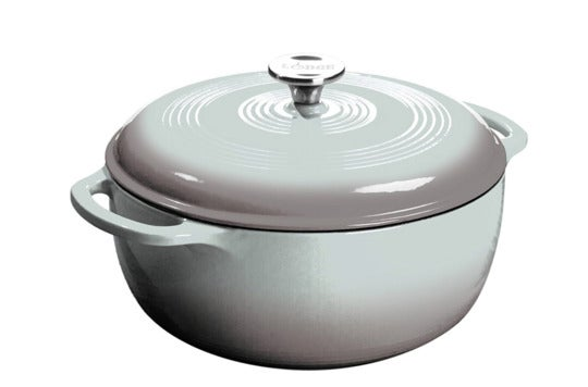 Lodge EC6D05 Enameled Cast Iron Dutch Oven.