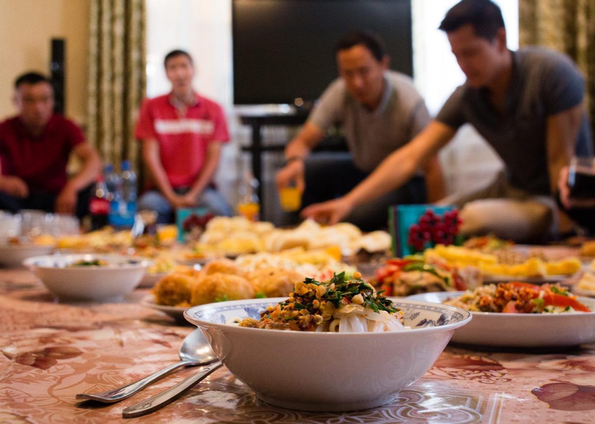 Ashlyan Fu and other Dungan dishes