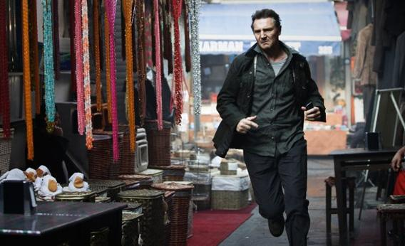 Liam Neeson in Taken 2.