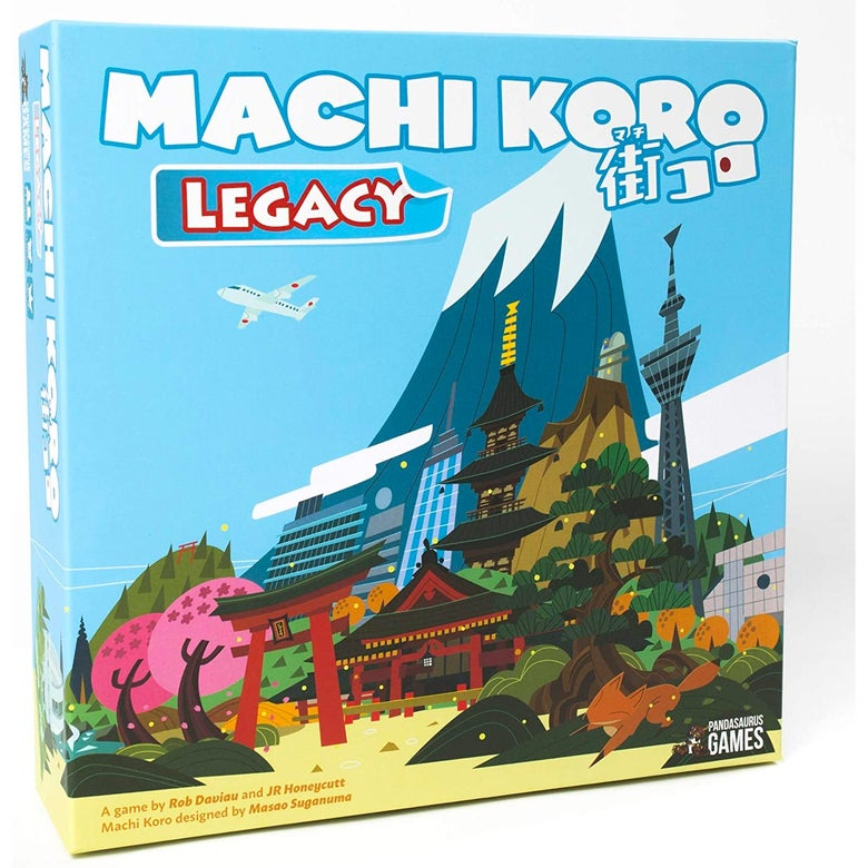 The box of Machi Koro.