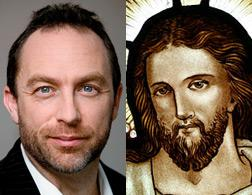 Jimmy Wales and Jesus.