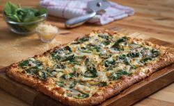 Domino's more 'fresh' pizza.