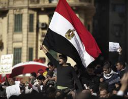 Protests in Cairo. Click image to expand.