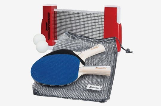 Franklin Sports Table Tennis to Go Set.