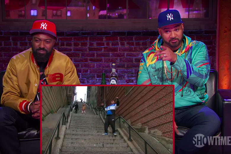 Watch Desus and Mero Clown on Tourists Visiting the Bronx's Joker Stairs