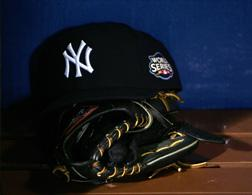 New York Yankees' hat. Click image to expand.