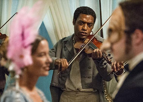 "Chiwetel Ejiofor as ""Solomon Northup"" in 12 Years A Slave."