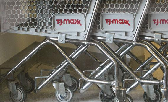 Hard times for consumers means good times for T.J. Maxx and other companies