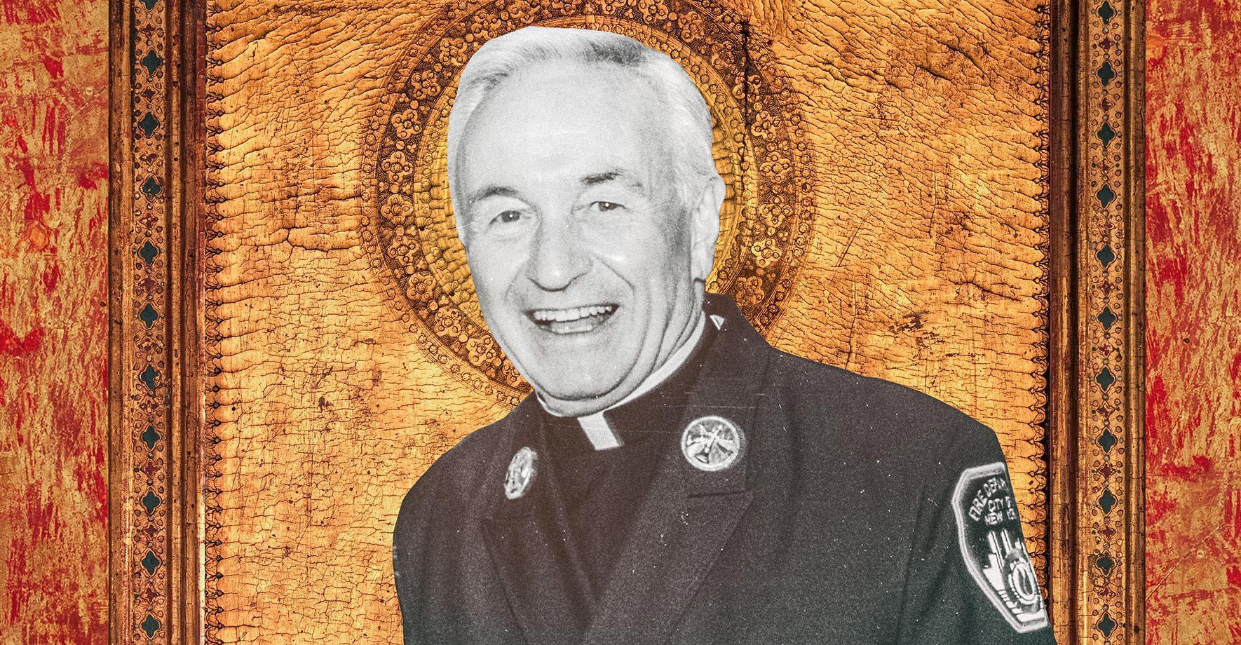 Rev. Mychal Judge, photographed July 28, 2001.