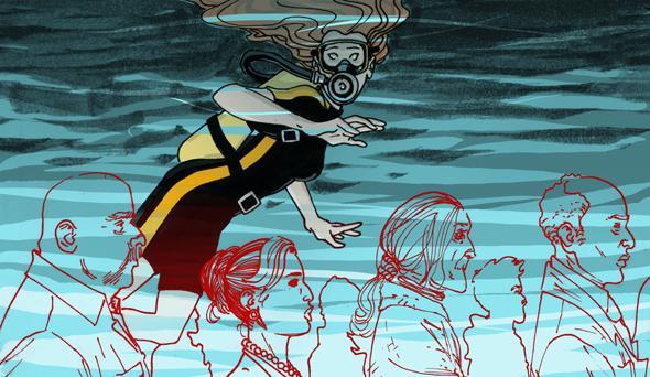Illustration by Matthew Roberts.