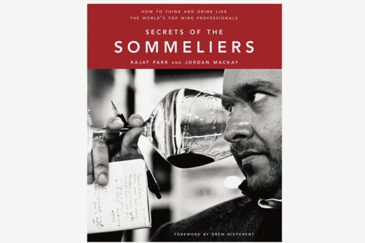 Secrets of the Sommeliers book.