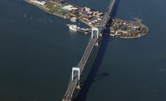 The Throgs Neck Bridge