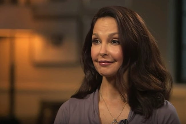 Ashley Judd chats with the BBC's Stephen Sakur for an upcoming episode of HARDtalk.