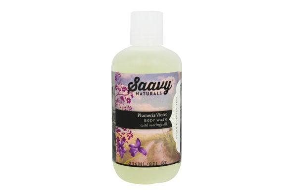 Plumeria Violet Body Wash