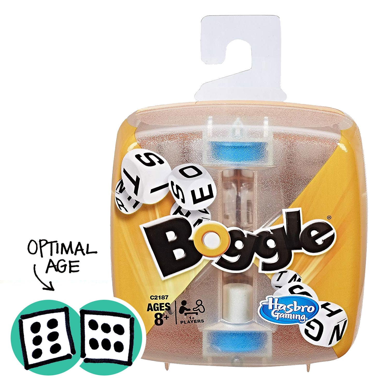 Hasbro Boggle Replacement 16 Dice Blue Letter Cubes Game Parts