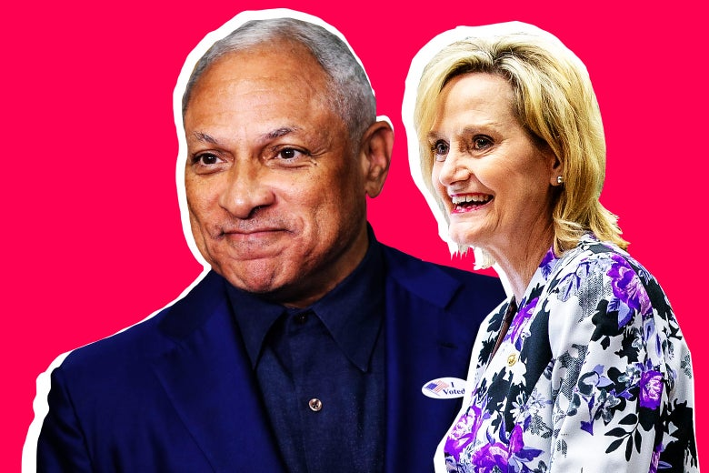 Mike Espy and Cindy Hyde-Smith